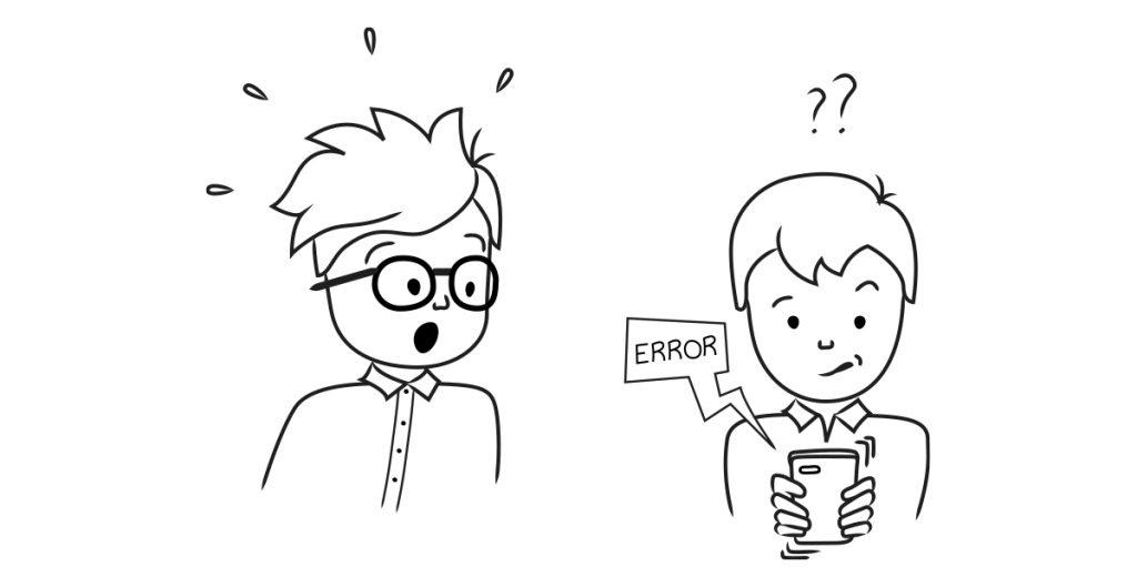 usability testing - don't panic