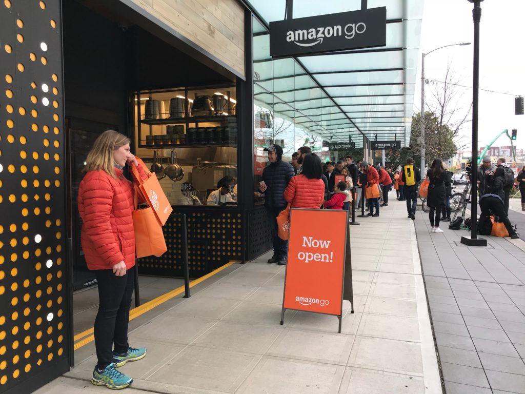 Checking out Amazon Go
